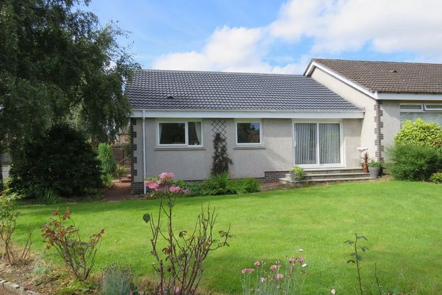 Thumbnail Semi-detached bungalow for sale in Rosebank, Inchdarnie Crescent, St Boswells, Melrose