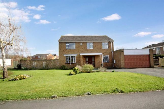 Thumbnail Detached house for sale in Okebourne Park, Swindon, Wiltshire