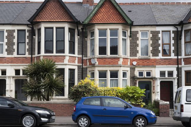 Thumbnail Terraced house for sale in Cathedral Road, Pontcanna, Cardiff