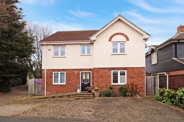 Thumbnail Detached house for sale in The Bringey, Great Baddow, Chelmsford