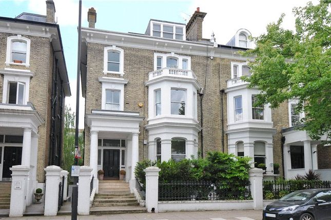 Exterior of Redcliffe Gardens, Chelsea, London SW10