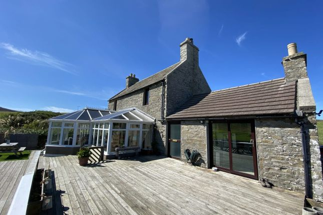 Thumbnail Detached house for sale in Quoyostrey, Rousay, Orkney, Kw172Ps