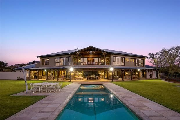 Thumbnail Country house for sale in Breton Drive, Waterfall Equestrian Estate, Gauteng, 2191