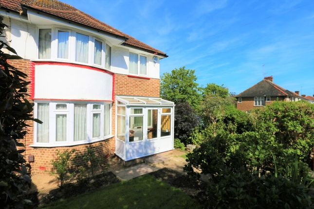 Thumbnail Semi-detached house for sale in Alverstone Road, Barn Hill Estate, Wembley Park
