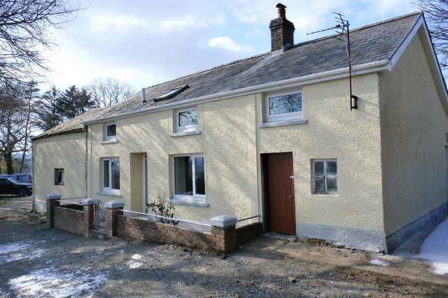 Thumbnail Land for sale in Ffarmers, Llanwrda