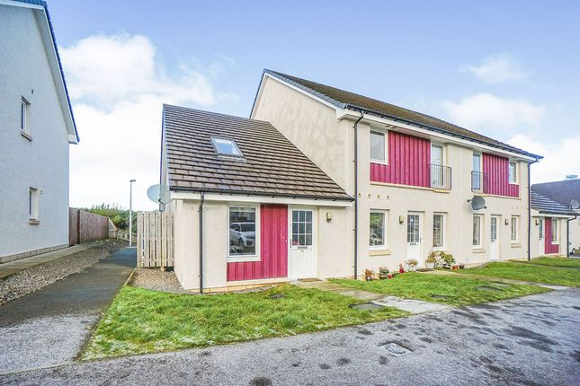 1 bed end terrace house for sale in Larchwood Drive, Inverness, Highland IV2