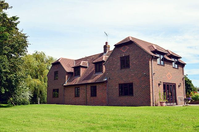 Thumbnail Detached house for sale in Easton Lane, Almodington, Chichester