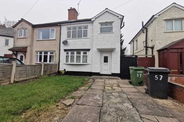 3 bed property to rent in The Crescent, Wolverhampton WV6