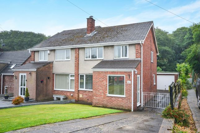 Thumbnail Semi-detached house for sale in St Davids Way, Caerphilly