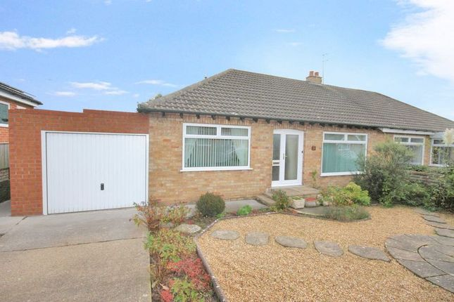 Thumbnail Semi-detached bungalow for sale in Park Lane, Easington, Saltburn-By-The-Sea