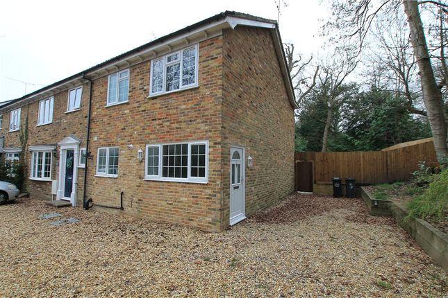 Thumbnail End terrace house for sale in Bosman Drive, Windlesham, Surrey