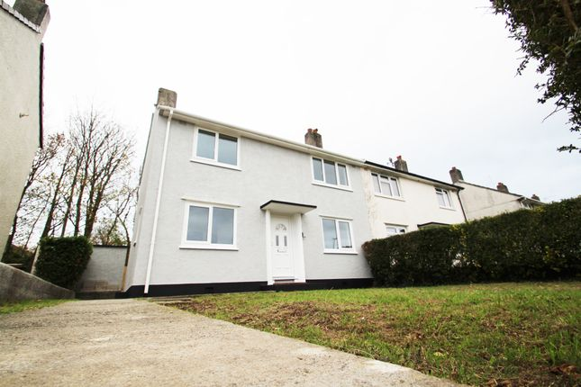 Thumbnail End terrace house for sale in Ham Drive, Plymouth