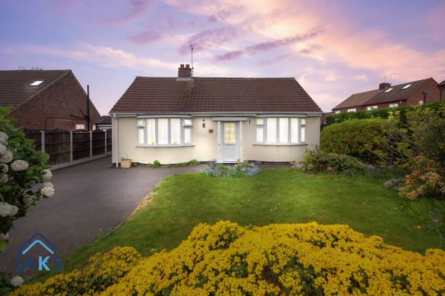 Thumbnail Detached bungalow for sale in Bristol Drive, Mickleover, Derby