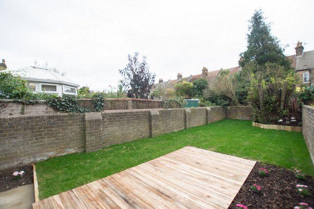 Rear Garden of Bloomsbury Road, Ramsgate CT11