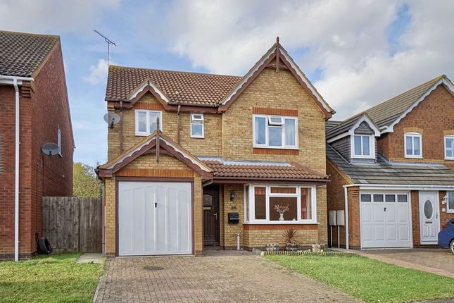 Thumbnail Detached house for sale in Blethan Drive, Stukeley Meadows, Huntingdon, Cambridgeshire.