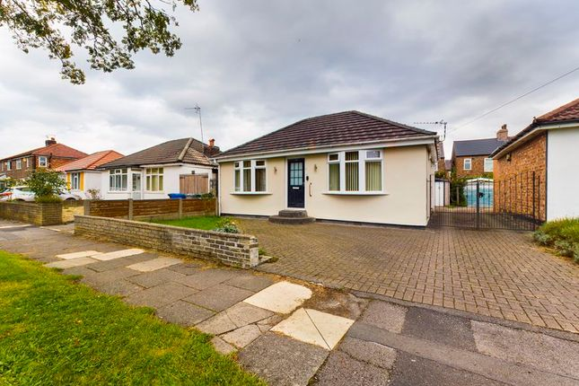 Thumbnail Detached bungalow for sale in Trevor Road, Flixton, Trafford