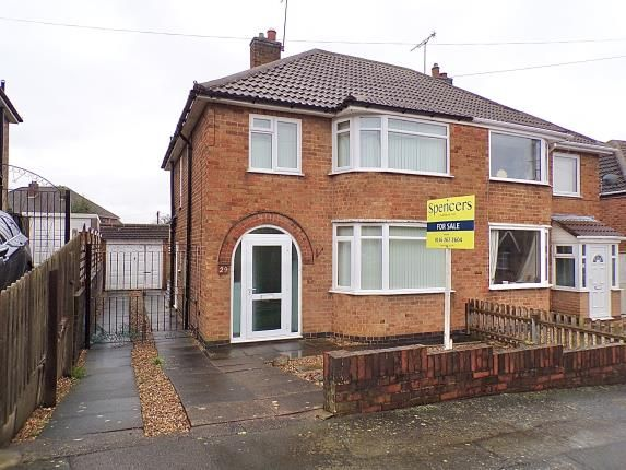 Front of Moorgate Avenue, Birstall, Leicester, Leicestershire LE4
