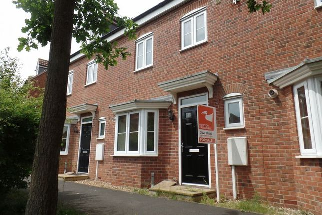 Thumbnail Semi-detached house to rent in Robins Crescent, Witham St. Hughs, Lincoln