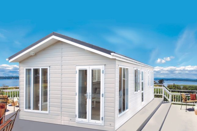 Thumbnail Mobile/park home for sale in Battisford Park Luxury Lodge Developments, Plympton, Plymouth