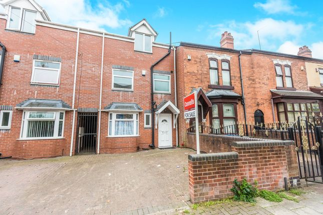 Thumbnail Town house for sale in South Road, Hockley, Birmingham