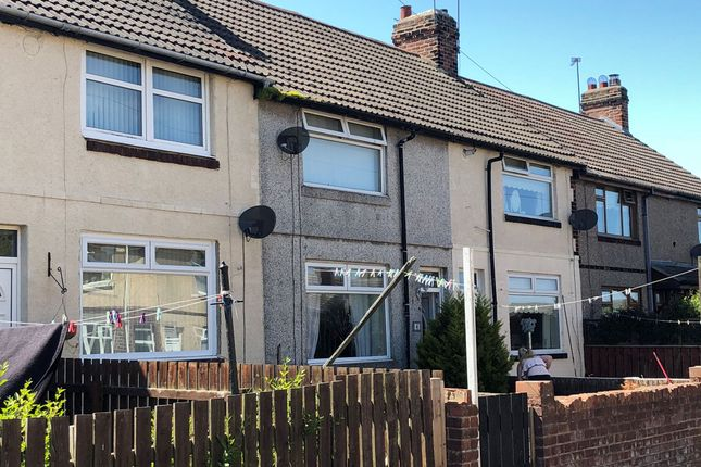 Thumbnail Terraced house for sale in Cravens Cottages, Station Town, Wingate