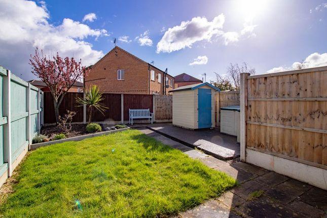 Garden At Back of Tewkesbury Road, Long Eaton, Nottingham NG10