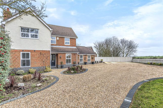Detached house for sale in Izzard Rise, Great Paxton, St. Neots, Cambridgeshire