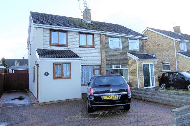 Thumbnail Semi-detached house for sale in Glan-Y-Llyn, North Cornelly, Bridgend.
