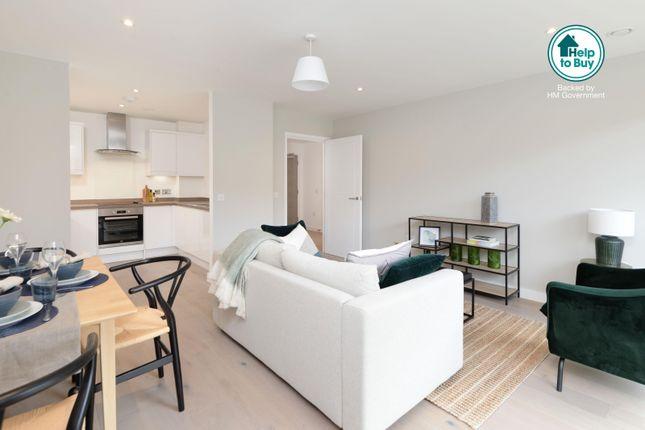 Show Apartment Open Plan Living Area