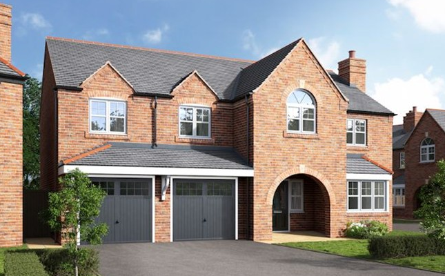 Thumbnail Detached house for sale in The Eaton, Stoney Brow, Roby Mill, Skelmersdale