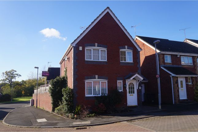 Thumbnail Detached house for sale in Cleobury Close, Redditch