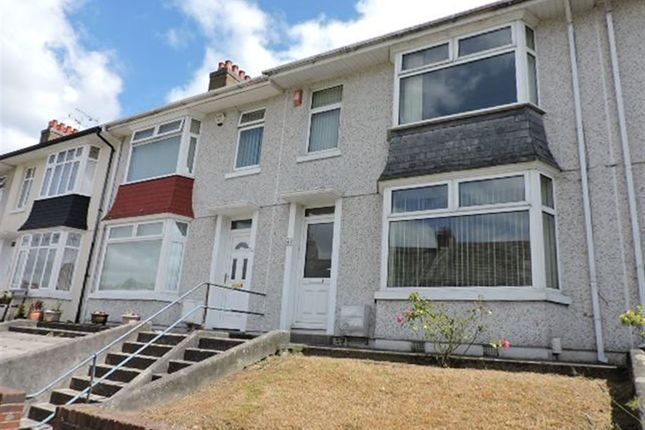 Thumbnail Terraced house to rent in Fullerton Road, Stoke, Plymouth