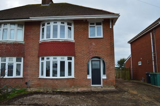 Thumbnail Semi-detached house to rent in Nodes Road, Cowes