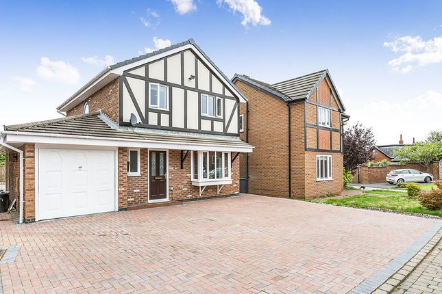 Thumbnail Detached house for sale in Richardson Close, Freckleton, Preston