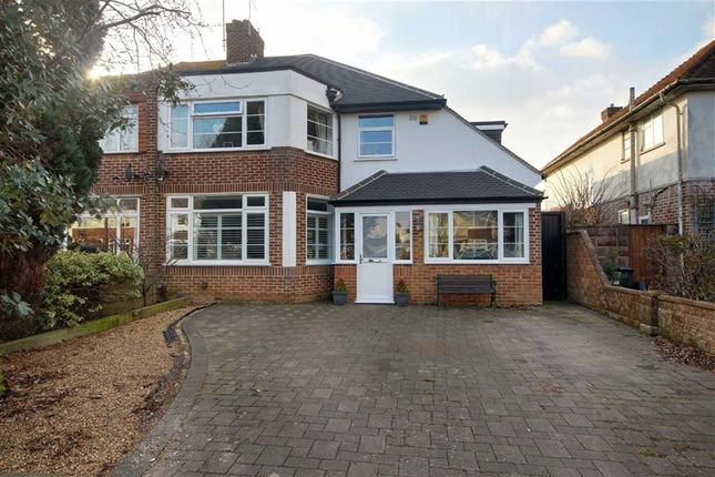 Thumbnail Semi-detached house for sale in Rosebery Avenue, Goring By Sea, Worthing, West Sussex