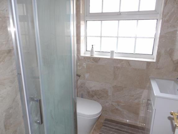 Shower Room of Peacock Gardens, Selsdon Vale, South Croydon, Surrey CR2