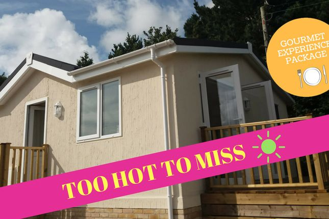 Thumbnail Mobile/park home for sale in Trelowth, St Austell Cornwall