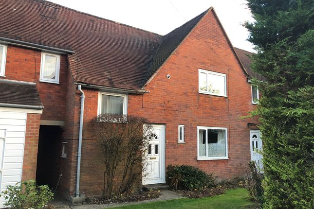 Thumbnail Terraced house to rent in Cromwell Road, Winchester