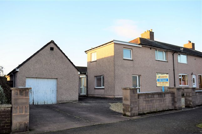 Thumbnail End terrace house for sale in 24 Vancouver Road, Eastriggs, Dumfries & Galloway