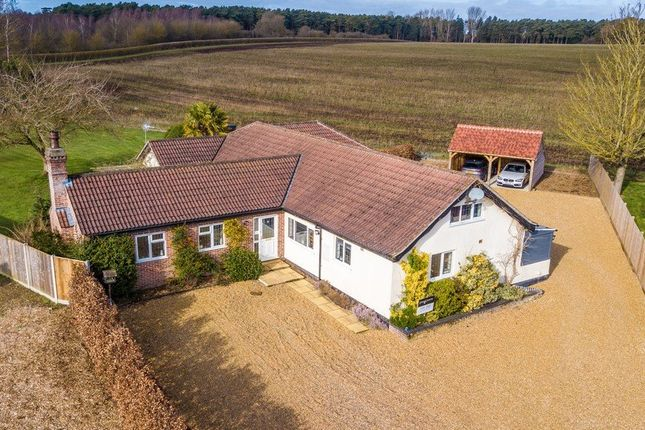 Thumbnail Detached bungalow for sale in Swaffham Road, Ickburgh, Thetford
