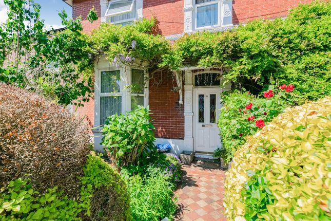 Thumbnail End terrace house for sale in Stubbington Avenue, Portsmouth