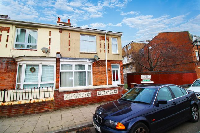 Thumbnail End terrace house to rent in Kent Street, Portsmouth