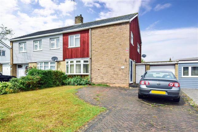 Thumbnail Semi-detached house for sale in Sparrows Herne, Kingswood, Basildon, Essex