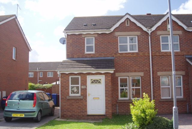 Thumbnail Semi-detached house to rent in Mast Drive, Victoria Dock, Hull
