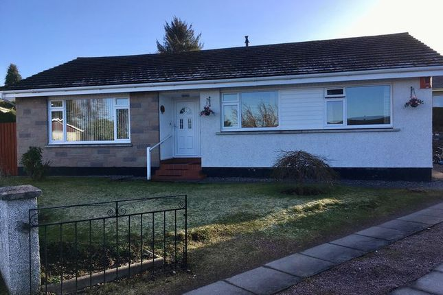 Thumbnail Detached bungalow for sale in Cradlehall Park, Westhill, Inverness