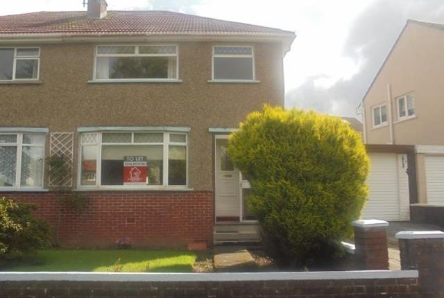Thumbnail Semi-detached house to rent in Larchfield Drive, Rutherglen, Glasgow