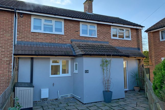 Thumbnail End terrace house for sale in Foxhall Fields, East Bergholt, Colchester