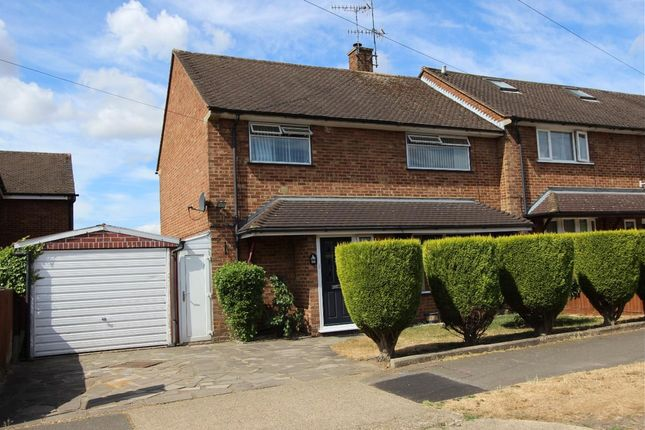 Thumbnail End terrace house for sale in Masons Road, Hemel Hempstead, Hertfordshire