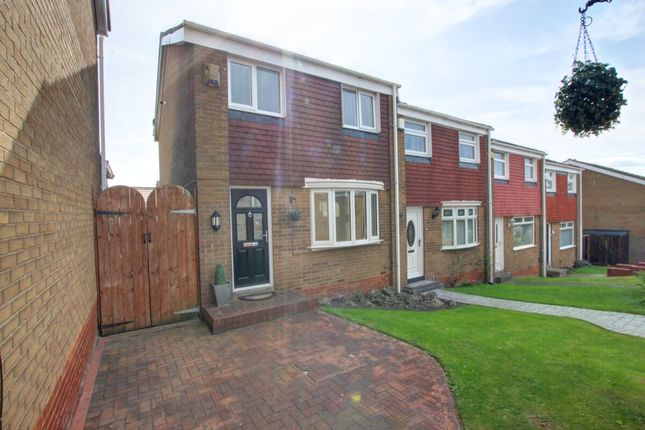 Thumbnail Terraced house for sale in Helmsley Close, Houghton Le Spring