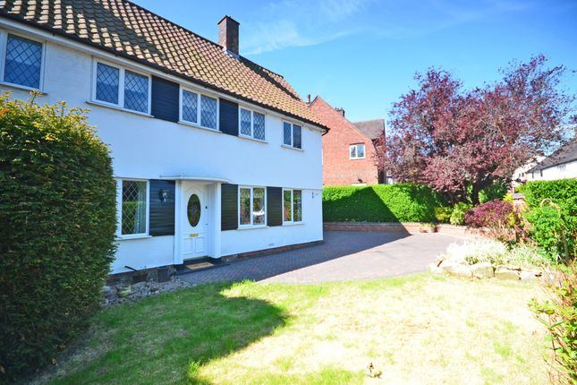 Thumbnail Semi-detached house for sale in 3 Greenway, Trentham, Staffordshire